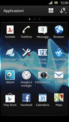 Sony Xperia U - Applicazioni - Configurazione del negozio applicazioni - Fase 3