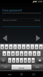 Sony Xperia V - Applicazioni - Configurazione del negozio applicazioni - Fase 11