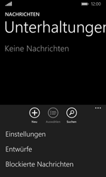Nokia Lumia 635 - SMS - Manuelle Konfiguration - Schritt 5