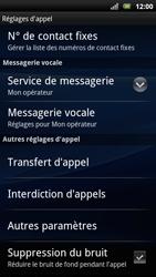 Sony Xperia Arc S - Messagerie vocale - Configuration manuelle - Étape 5