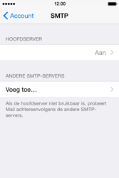 Apple iPhone 4s iOS 8 - E-mail - Account instellen (IMAP zonder SMTP-verificatie) - Stap 19