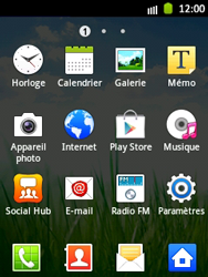 Samsung Galaxy Pocket - Internet et roaming de données - Désactivation du roaming de données - Étape 3