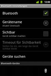 Alcatel OT-983 - Bluetooth - Verbinden von Geräten - Schritt 8