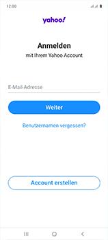 Samsung Galaxy A51 - E-Mail - 032b. Email wizard - Yahoo - Schritt 9