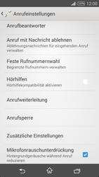 Sony Xperia T3 - Anrufe - Rufumleitungen setzen und löschen - 5 / 9