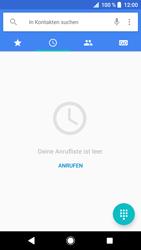 Sony Xperia XZ - Anrufe - Rufumleitungen setzen und löschen - 4 / 12
