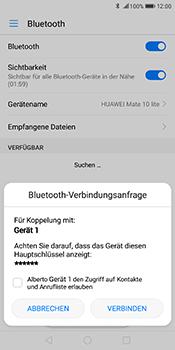 Huawei Mate 10 Lite - Bluetooth - Geräte koppeln - Schritt 8
