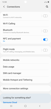 Samsung Galaxy Note 20 Ultra 5G - Network - Manual network selection - Step 5