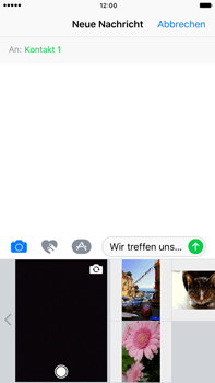 Apple iPhone 7 Plus - MMS - Erstellen und senden - Schritt 12