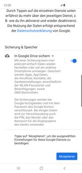 Samsung Galaxy S10 - Apps - Einrichten des App Stores - Schritt 19