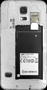 Samsung Galaxy S5 - SIM-Karte - Einlegen - 3 / 8