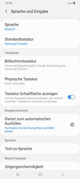 Samsung Galaxy A70 - Startanleitung - So fügen Sie eine Tastatursprache hinzu - Schritt 6