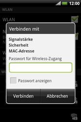 HTC Explorer - WLAN - Manuelle Konfiguration - 8 / 10