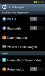 Samsung I8190 Galaxy S3 Mini - Ausland - Im Ausland surfen – Datenroaming - Schritt 6