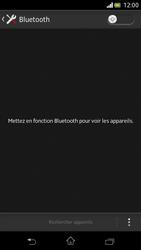 Sony Xperia V - Bluetooth - Jumelage d