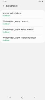 Samsung Galaxy A80 - Anrufe - Rufumleitungen setzen und löschen - Schritt 9