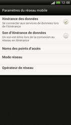 HTC One S - Aller plus loin - Désactiver les données à l'étranger - Étape 5