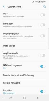 Samsung Galaxy S9 - Network - Change networkmode - Step 6