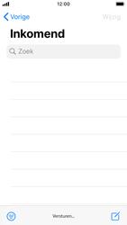Apple iphone-se-met-ios-13-model-a1723 - E-mail - Hoe te versturen - Stap 16