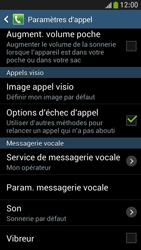 Samsung I9195 Galaxy S IV Mini LTE - Messagerie vocale - Configuration manuelle - Étape 6