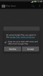 HTC One S - Applications - Setting up the application store - Step 17