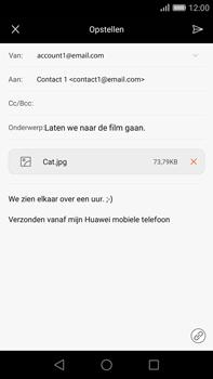 Huawei G8 - E-mail - e-mail versturen - Stap 15