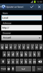 Samsung Galaxy S II - Internet et roaming de données - Navigation sur Internet - Étape 8
