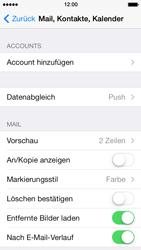Apple iPhone 5 iOS 7 - E-Mail - Manuelle Konfiguration - Schritt 8