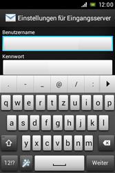 Sony Xperia E - E-Mail - Konto einrichten - Schritt 8