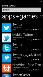 HTC Windows Phone 8X - Applications - Setting up the application store - Step 6