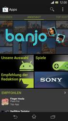 Sony Xperia Z - Apps - Herunterladen - 0 / 0