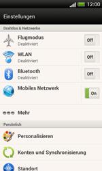 HTC One SV - Internet und Datenroaming - Manuelle Konfiguration - Schritt 5