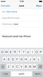 Apple iPhone 5s - E-mail - E-mails verzenden - Stap 7