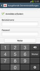 Samsung Galaxy S 4 LTE - E-Mail - Manuelle Konfiguration - Schritt 13