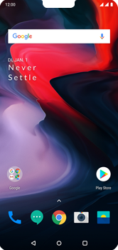 OnePlus 6 - Internet - Handmatig instellen - Stap 1