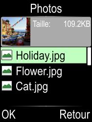 Doro Phone Easy 612 - Contact, Appels, SMS/MMS - Envoyer un MMS - Étape 15