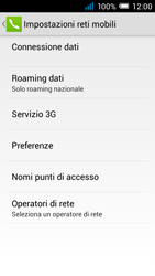 Alcatel Pop C7 - Internet e roaming dati - Configurazione manuale - Fase 8