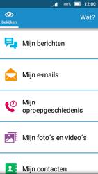 Doro 8031 - E-mail - E-mail versturen - Stap 4