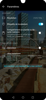 Huawei P Smart 2020 - Photos, vidéos, musique - Créer une vidéo - Étape 8