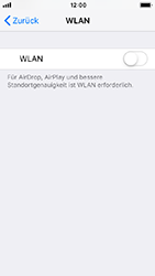Apple iPhone SE - iOS 12 - WLAN - Manuelle Konfiguration - Schritt 4