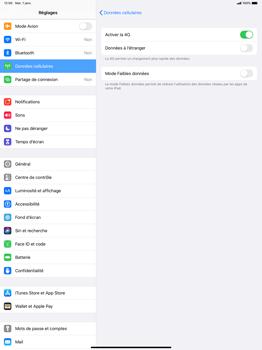 Apple iPad Pro 12.9 (2018) - ipados 13 - Réseau - Comment activer une connexion au réseau 4G - Étape 6