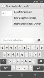 Sony Xperia Z1 - MMS - Erstellen und senden - 8 / 22