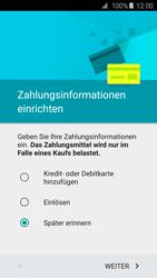 Samsung Galaxy S6 - Apps - Einrichten des App Stores - Schritt 16