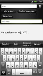 HTC Z715e Sensation XE - OS 4 ICS - E-mail - hoe te versturen - Stap 8