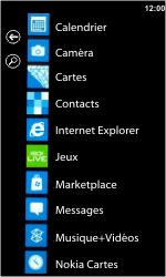 Nokia Lumia 710 - Internet - Navigation sur Internet - Étape 2