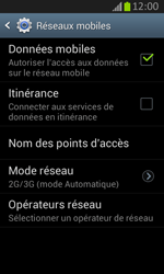 Samsung S7710 Galaxy Xcover 2 - MMS - configuration manuelle - Étape 8