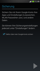 HTC One Mini - Apps - Konto anlegen und einrichten - 22 / 24