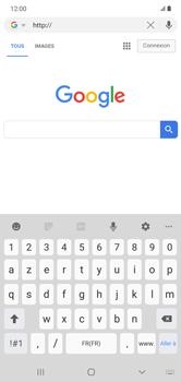 Samsung Galaxy Note 10+ - Internet et connexion - Naviguer sur internet - Étape 7