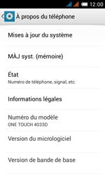 Alcatel One Touch Pop C3 - Logiciels - Installation de mises à jour - Étape 5