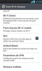 LG P700 Optimus L7 - Internet - activer ou désactiver - Étape 5